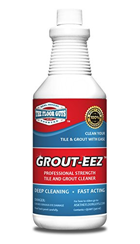 IT JUST Works! Grout-EEZ Super Heavy-Duty Grout Cleaner. Easy and Safe to Use. Destroys Dirt and Grime with Ease. Even Safe for Colored Grout. The Floor Guys. ...