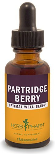 Herb Pharm Partridge Berry (Squaw Vine) Extract - 1 Ounce by Herb Pharm