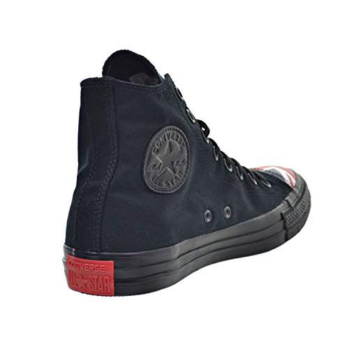 Converse Chuck Taylor All Star Hi Unisex Schoenen Zwart / Marine / Rood 153910c
