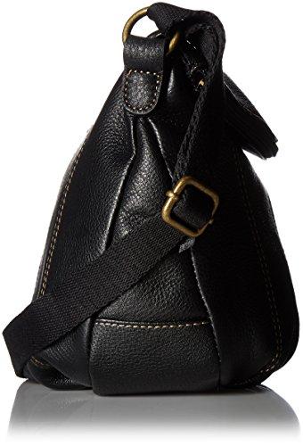The Sak Deena Flap Cross-Body Bag, Black, One Size