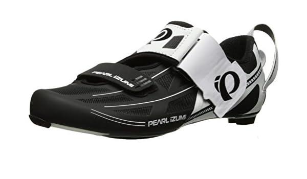 PEARL IZUMI 15117002509430 - Zapatillas Ciclismo, 43, Blanco ...