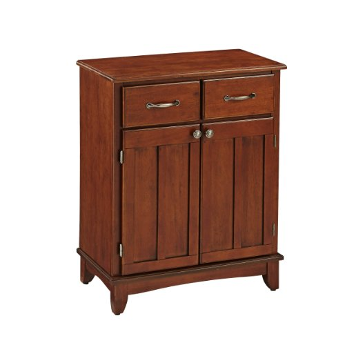 Home Styles 5001-0072 5001 Series with Medium Cherry Wood Top Buffet, Medium Cherry, 29-1/4-Inch