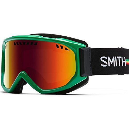 Smith Optics Scope Adult Airflow Series Snocross Snowmobile Goggles Eyewear - Irie / Red Sol X Mirror / Medium