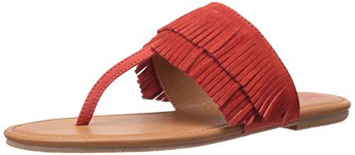 BC Footwear Women's Dinky Dress Sandal - Orange - 7 B(M) US