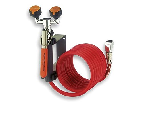 Guardian G5046 Metal Wall Mounted Eyewash/Drench Hose - Mounted Wall Drench