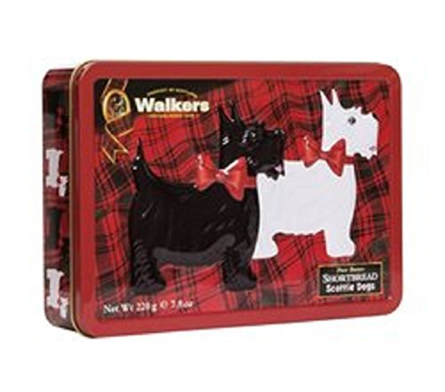 Price comparison product image Walkers Pure Butter Shortbread Scottie Dogs Biscuits Made In Scotland by Walker's