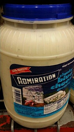 Admiration Chunky Blue Cheese Dressing 1 Gal (2 Pack) by Admiration