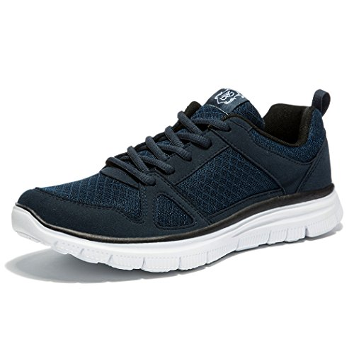 NewDenBer Running Dark Lightweight Traning Cross Mens Blue Shoe NDB rwaqXzBr