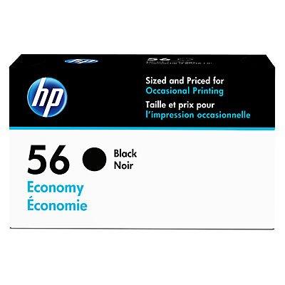 HP 56 Economy Black Ink Cartridge (D8J31AN) for HP Deskjet 450 5550 5650 5850 9650 9680 HP Officejet 4215 5610 6110HP Photosmart 7260 7350 7450 7550 7755 7760 7762 7960 HP PSC 1210 1315 1350 2110 2175 2210 2410
