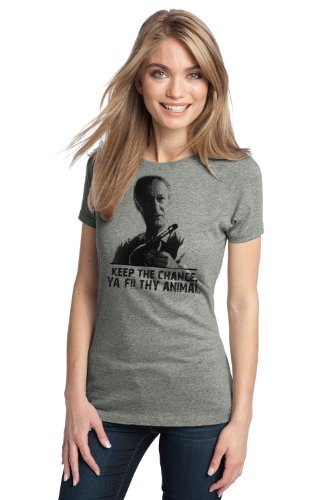 KEEP THE CHANGE, YA FILTHY ANIMAL Ladies' T-shirt / Home Alone, 90s Movie Tee