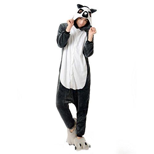 Men's Guenon Onesies Costume Animal Pajamas XL (Plus Size Squirrel Costume)