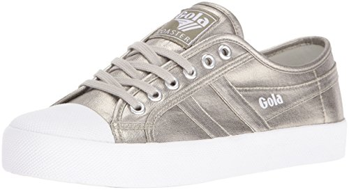 Gola Baskets pewter Femme Basses Coaster Pewter Metallic pqTwnq0Br