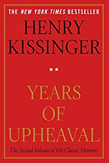 Image result for henry kissinger memoirs