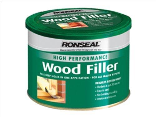 Ronseal  High Performance Wood Filler - Natural 550g RSLHPWFN550G