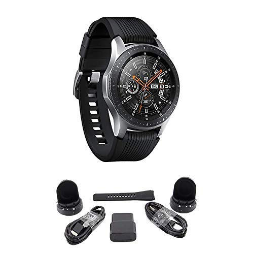 Samsung Galaxy Watch (46 mm) Plata (Bluetooth), SM-R800NZSAXAR ...