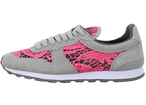 Colors of California Women's Trainers Pink Grey cO0Cz