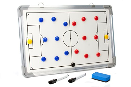 Murray Sporting Goods Magnetic Coaches Dry Erase Marker Board (Soccer) (Big Soccer Board)
