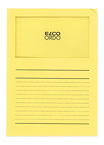 Elco 29489.71 Ordo Organisationsmappe Classico gelb 120 g 220 x 310 mm