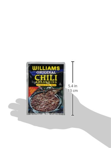 Williams Chili Seasoning Mix, 1-Ounce Packets (Pack of 24) by Williams (Image #3)