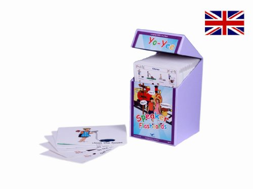 English Speaker Flash Cards Kit to Teach Pre-Intermediate Level Students by Yo-Yee Education