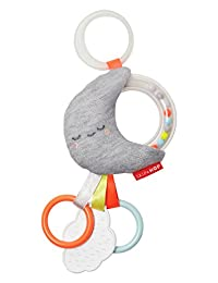 Skip Hop Silver Lining Cloud Rattle Moon Stroller Toy, Multi BOBEBE Online Baby Store From New York to Miami and Los Angeles
