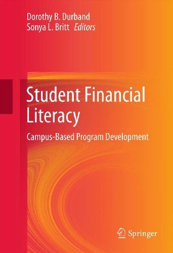 Download Student Financial Literacy: Campus-Based Program Development Pdf