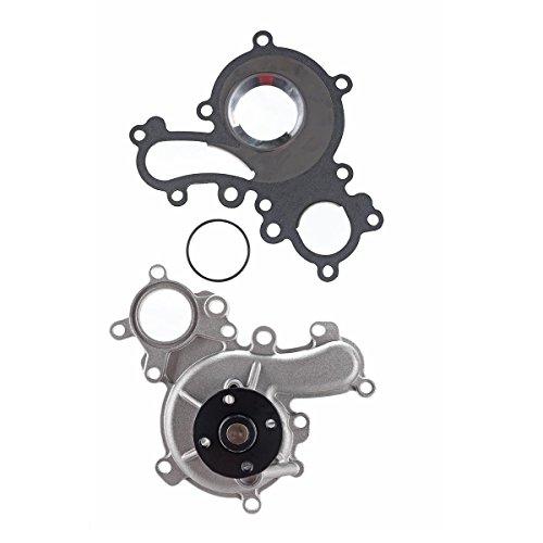 A-Premium Engine Water Pump for Toyota Tundra 2008-2015 Sequoia Land Cruiser Lexus LX570 V8 5.7L DOHC ()
