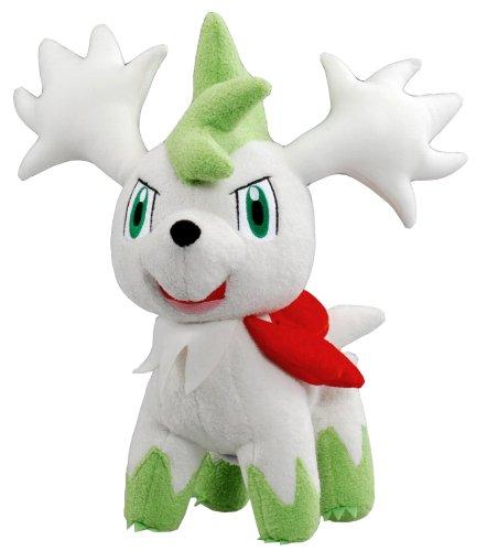 "Takaratomy Pokemon Talking Plush Shaymin SKY Form 10"" Import Japan"