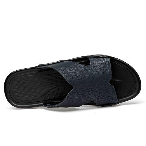 Piatto Slip da Slipper Uomo Blu Tacco Fashion Scarpe Cricket on da dqtOd