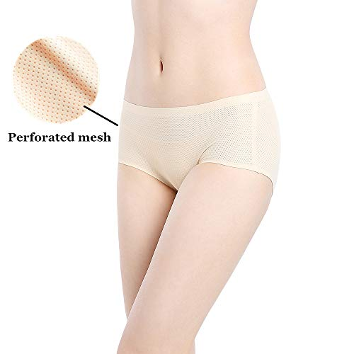 ba21c6841c1 Womens Underwear Pack Seamless Cheeky Hipster Panties No Show Panty Lines