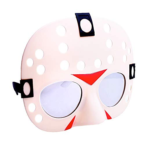 Costume Sunglasses Friday the 13th Sun-Staches Party Favors UV400