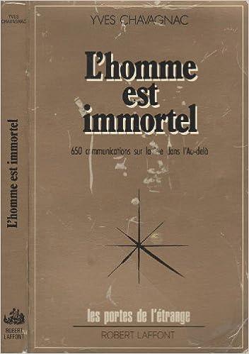 Téléchargez gratuitement ebooks jar format L'homme est immortel 2221050193 by Yves Chavagnac CHM