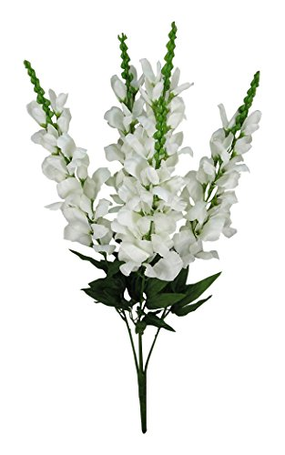 Admired By Nature 5 Stems Artificial Blooming Snapdragon ...