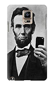 S0041 Abraham Lincoln Case Cover For Samsung Galaxy Note 4 hjbrhga1544
