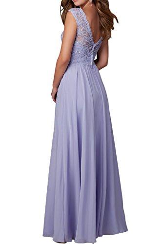 Chiffon Etuikleider Festliche Abendkleider Damen Ballkleider Kleider Lilac Langes Orange Charmant Brautjungfernkleider tgqfc