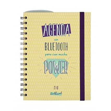 Agenda Escolar Finocam Talkual, Espiral Tamaño 4º S/V 2017 ...