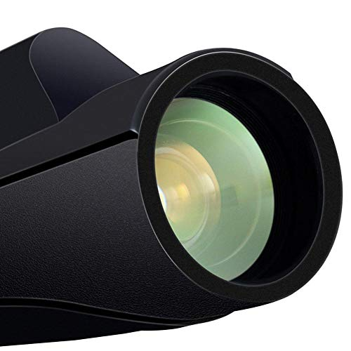 libeauty High-Definition High-Powered Telescope Support Camera Function 16X50 Monocular Telephoto Low Light Night Vision Telescope Support Camera