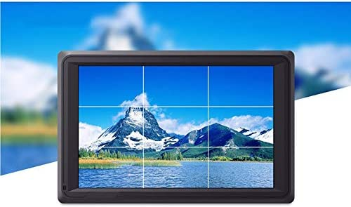 Focus Assist Zebra Exposure Noblik Fw279S 7 4K Hdmi 3G-Sdi 2200Nit Daylight Viewable 1920X1200 On-Camera Field Monitor with Histogram to for DSLR Camera False Color