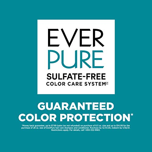 L'Oreal Paris EverPure Repair and Defend Sulfate Free Shampoo and Conditioner Kit for Color-Treated Hair, Strengthens…