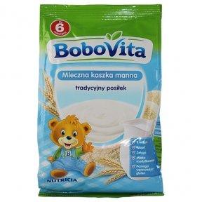 Bobovita Instant Milk Semolina (230g /8.1 Oz)