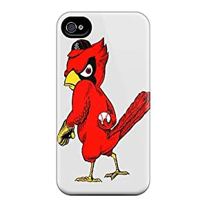 Iphone 4/4s Case Slim [ultra Fit] St. Louis Cardinals Protective Case Cover