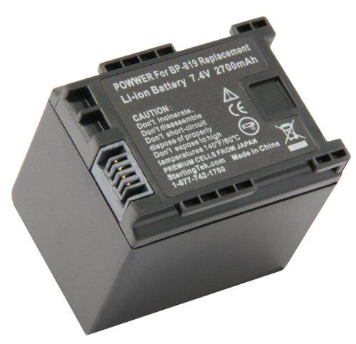 - STK's Canon BP-819 Battery - 2700mAh for Canon XA10, Vixia HF G10, HF M40, HF200, HF10, HF20, HF S21, HF M41, HF S100, HF S200, HF M400, HF100, HG20, HF S20, HF S30, HF S10, HF11, HG21, HF S11, M31, M300, M30, CG-800