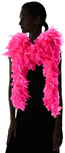ZUCKER Heavy Weight Chandelle Feather boa Solid Colors - Shocking Pink by Zucker (Image #4)