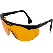 Uvex S1933X Skyper Safety Eyewear, Black Frame, SCT-Orange UV Extreme Anti-Fog Lens (6-Pack)