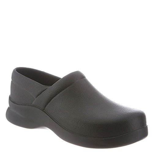 Klogs Menu0027s Bistro Lightweight Black Casual Clog 11 M