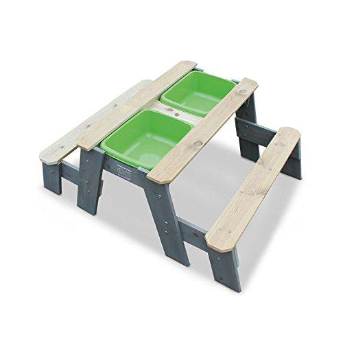 Sand/Wasserspieltisch mit Bänken (1 Stück)