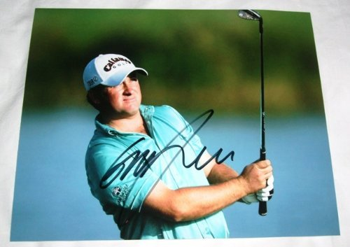 Graeme McDowell Autographed PGA 8x10 W/PROOF, Picture of Graeme Signing For Us, Masters Champion, PGA Championship, US Open, The Open Championship, PGA ()