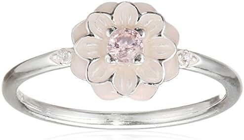 Pandora 190985NBP-54 Blooming Dahlia Ring, Size 7