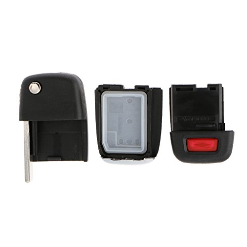 MagiDeal Flip Key Entry Remote Shell Case