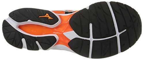 Mizuno Men's Wave Rider 20 Running Shoe Clownfish/Black cheap sale best kM1Nr